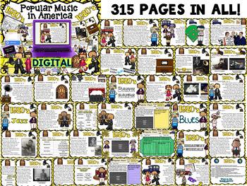American Popular Music - The 1920's Decade (Digital Version)