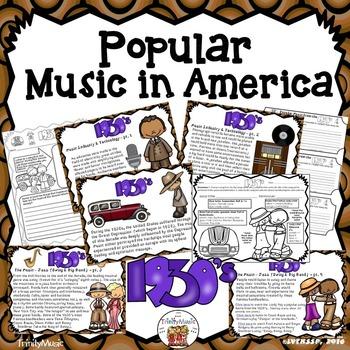 American Popular Music - The 1930's Decade