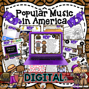 American Popular Music - The 1930's Decade (Digital Version)