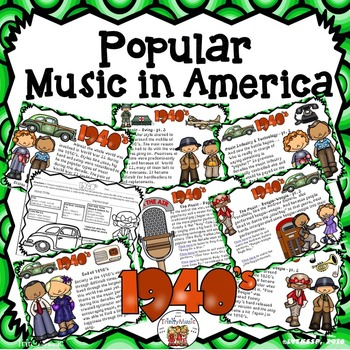 American Popular Music - The 1940's Decade