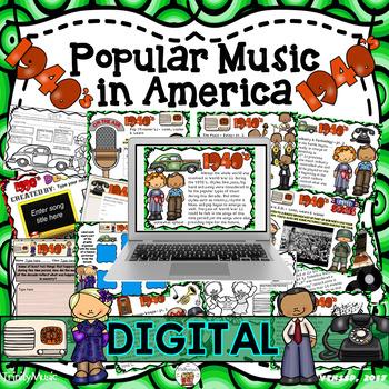 American Popular Music - The 1940's Decade (Digital Version)