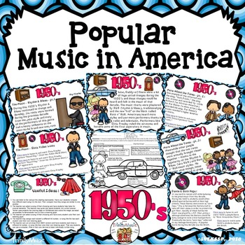 American Popular Music - The 1950's Decade