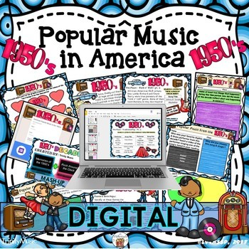 American Popular Music - The 1950's Decade (Digital Version)