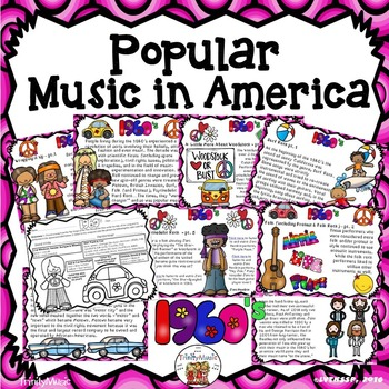 American Popular Music - The 1960's Decade