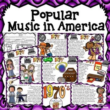 American Popular Music - The 1970's Decade