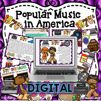 American Popular Music - The 1970's Decade (Digital Version)