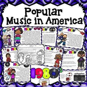 American Popular Music - The 1980's Decade