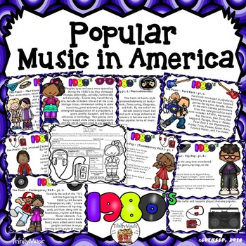American Popular Music - The 1980's Decade