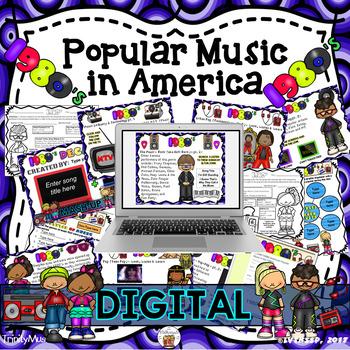 American Popular Music - The 1980's Decade (Digital Version)
