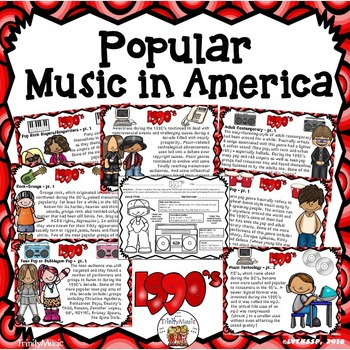 American Popular Music - The 1990's Decade