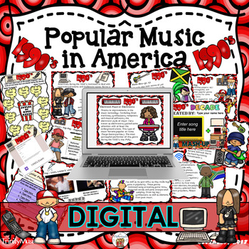 American Popular Music - The 1990's Decade (Digital Version)
