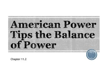 American Power Tips Balance in WWI