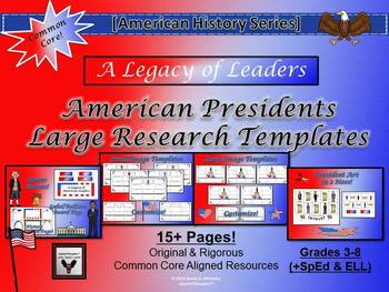 American President Activity Research Bundle