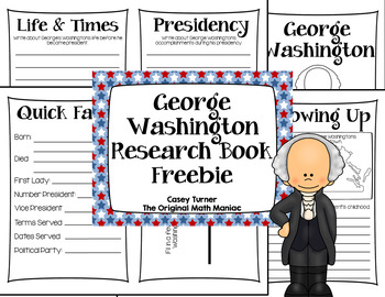American President Research Books: George Washington Freebie