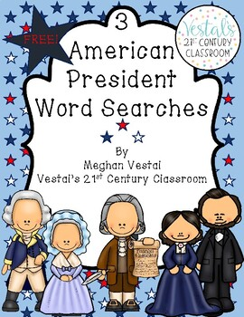 American President Word Searches