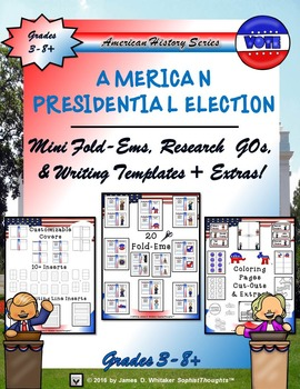 American Presidential Race 2016 Research Fold-Ems