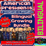American Presidents - Bilingual Growing Bundle + Bonus Set