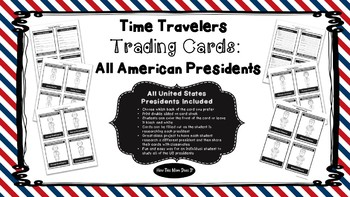 American Presidents Biography Trading Cards - All US Presidents Included