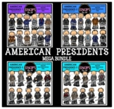 American Presidents Clip Art Mega Bundle {Educlips Clipart}