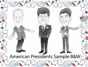 American Presidents Clip Art Mega Bundle