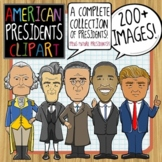 American Presidents ClipArt