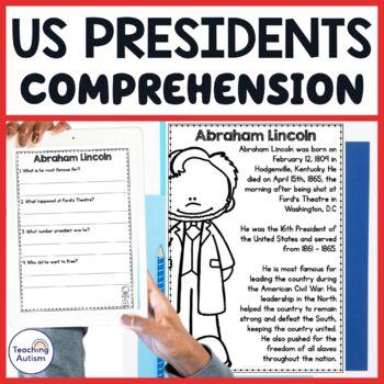 American Presidents Comprehension