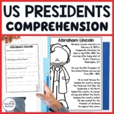 American Presidents Reading Comprehension Passages and Questions