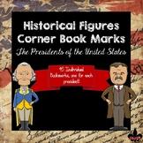 American Presidents Corner Book Marks