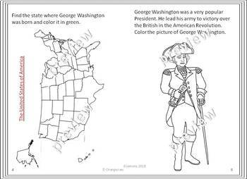 American Presidents - George Washington (My Book of George Washington)