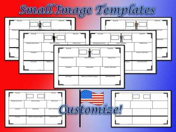American President's Large 8.5x14 Research Templates