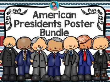 American Presidents Poster Bundle