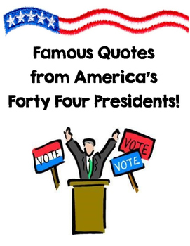 American Presidents Quote Book