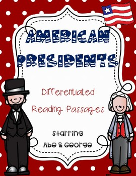 American Presidents Reading Passages - Abe & George