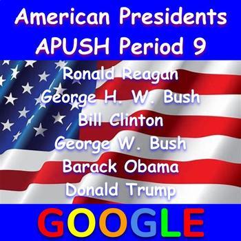 American Presidents: Reagan - Trump