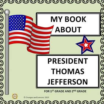 American Presidents - Thomas Jefferson  (My Book of Thomas Jefferson)