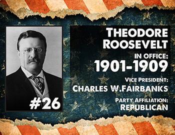 American History Presidents Timeline