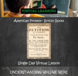 American Protest Independent Learning Virtual Lesson:  His