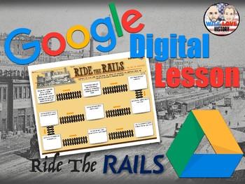 American Railroads: Ride the Rails Digital Activity