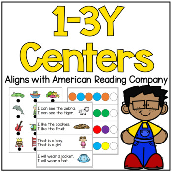 American Reading Company 1-3Y Centers