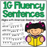 American Reading Company 1G Fluency Sentences