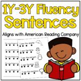 American Reading Company 1Y-3Y Fluency Sentences