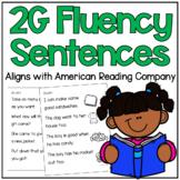 American Reading Company 2G Fluency Sentences