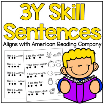 American Reading Company 3Y Sentence Pack