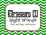 American Reading Company-Green 1 Sight Word Trace and Read