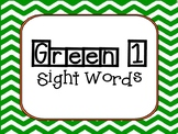 American Reading Company- Green 1 Sight Words