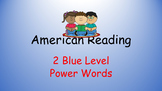 American Reading Power Words 2B List and Recording Sheet