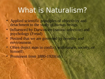 American Regionalism, Realism and Naturalism 1860-1920