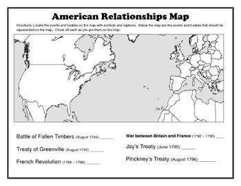 American Relationships Map