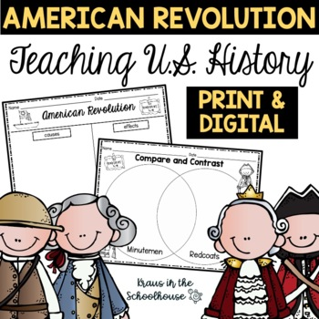American Revolution - Engaging Activities to Teach about U.S. History