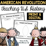 American Revolution - Engaging Activities to Teach about U